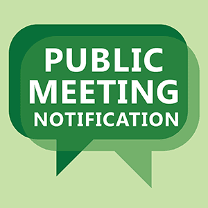Public Meeting Notification
