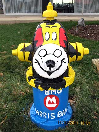 BMO Harris Bank - Hubert the Lion -St. Charles and