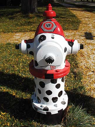 Madison and Summit - Dalmation with Fire Hat