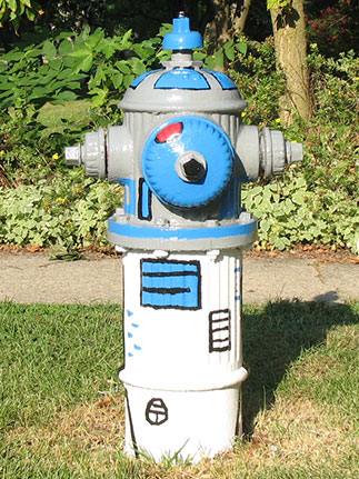 Monroe and Ardmore - R2D2